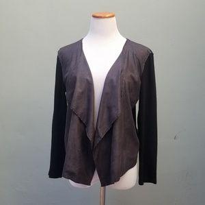 Velvet by Graham & Spencer Draped Jacket